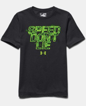 Boys' UA Speed Don't Lie T-Shirt