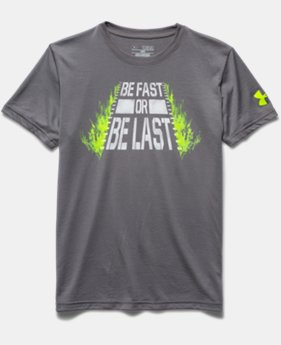 Boys' UA Be Fast T-Shirt
