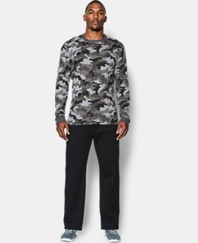 Men's UA Amplify Camo Thermal Crew  2 Colors $26.99