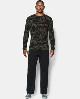 Men's UA Amplify Camo Thermal Crew  1 Color $26.99