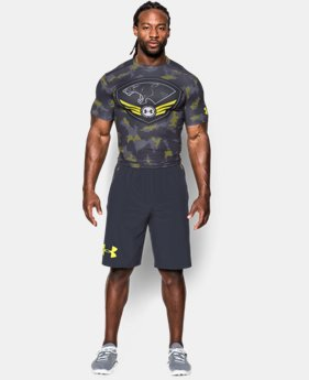Men's UA Combine® Training HeatGear® Armour Short Sleeve Compression Shirt