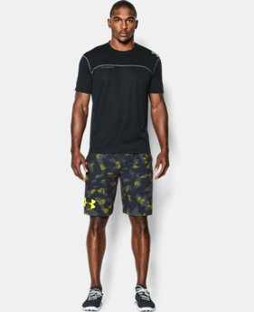 Men's UA Combine® Training Printed Velocity Shorts