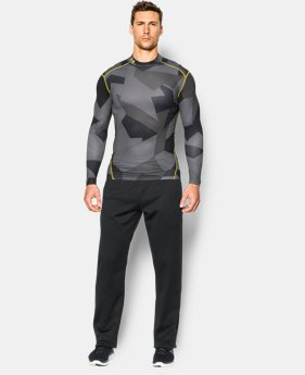 Men's UA ColdGear® Armour Compression Mock  1 Color $35.99