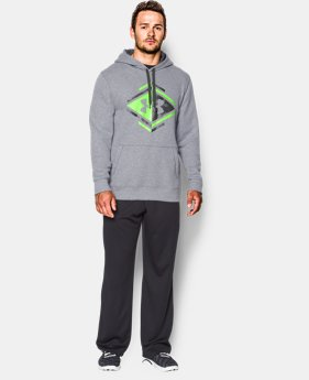 Men's UA Rival Fleece Graphic Hoodie