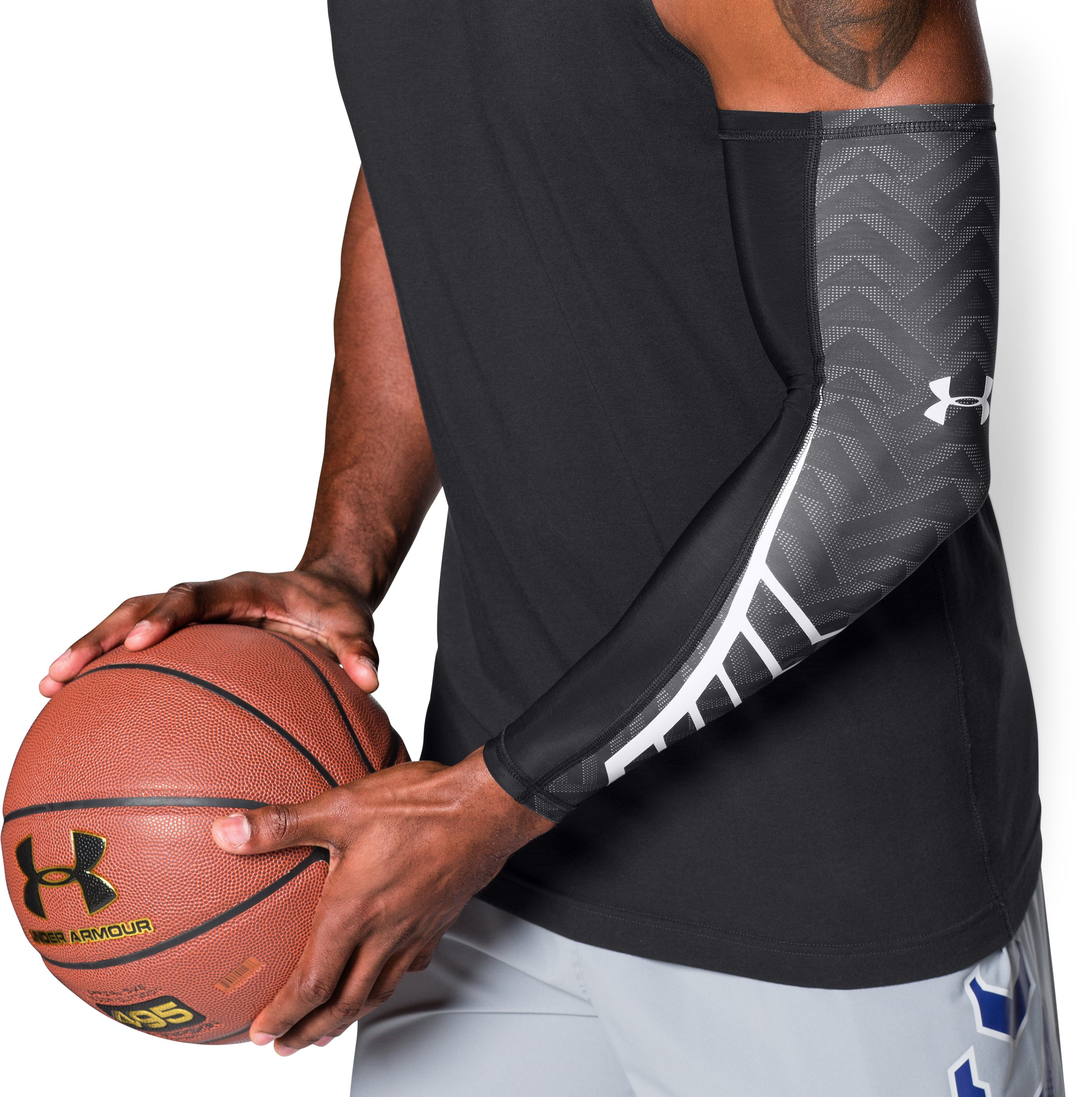 Men's UA Undeniable Graphic Sleeve, Black , undefined