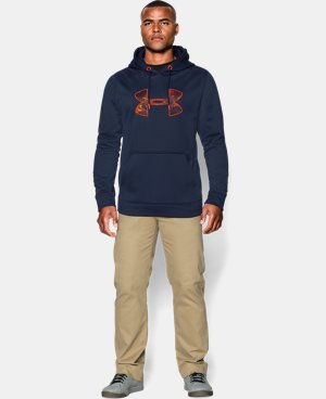 Men's UA Storm MTN Big Logo Hoodie LIMITED TIME: FREE U.S. SHIPPING 1 Color $33.74 to $44.99