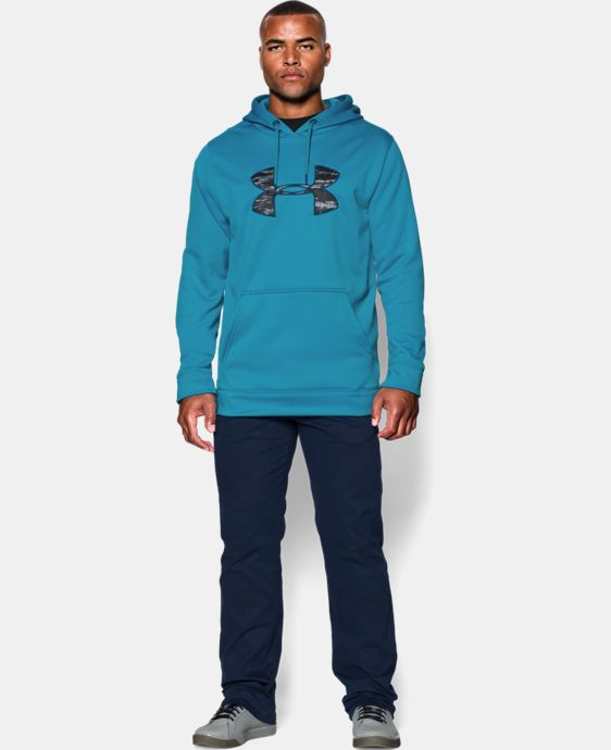 Men's UA Storm MTN Big Logo Hoodie  4 Colors $33.74