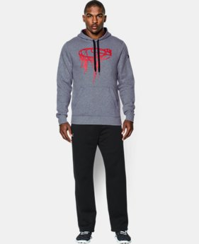 Men's UA Chain Link Hoodie LIMITED TIME: FREE U.S. SHIPPING  $37.99