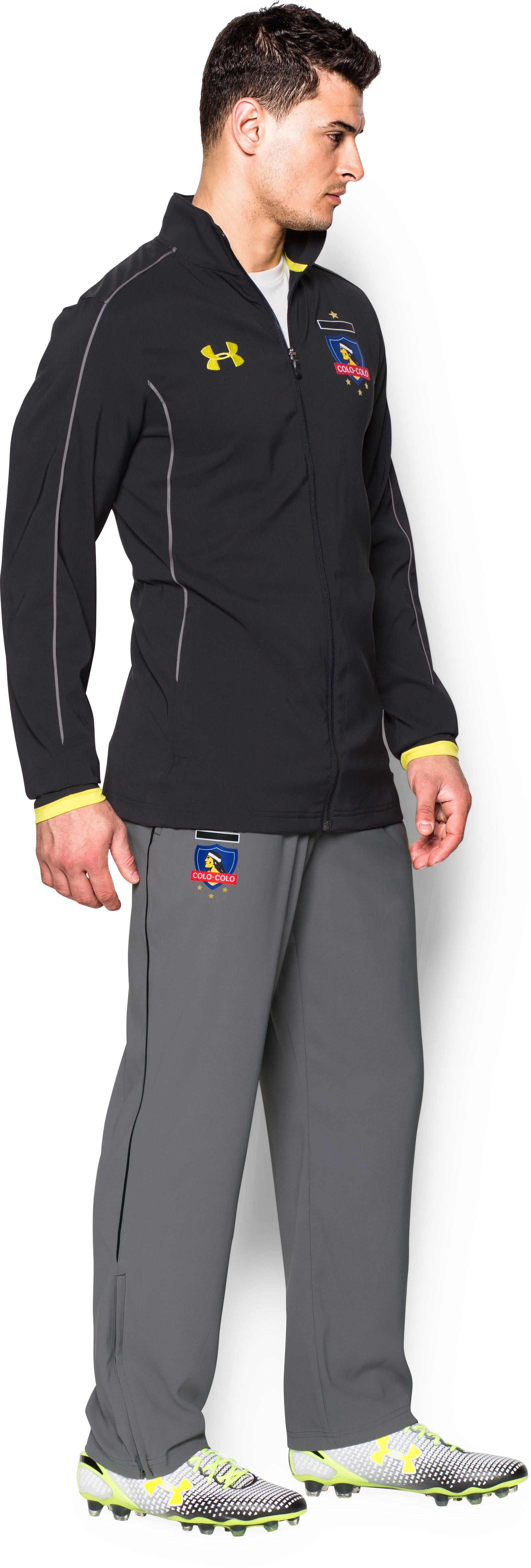 Men's Colo-Colo UA Storm Travel Pants, Graphite,
