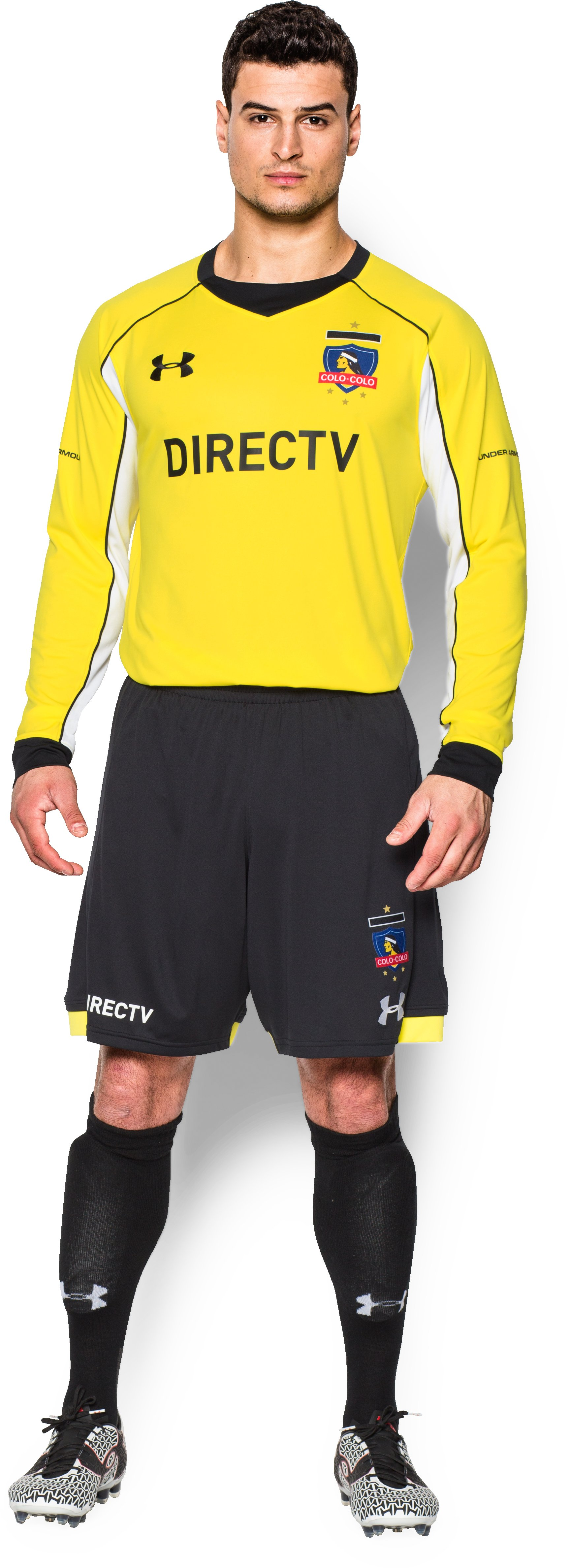 Men's Colo-Colo Goalkeeper Replica Jersey, Sunbleached, Front