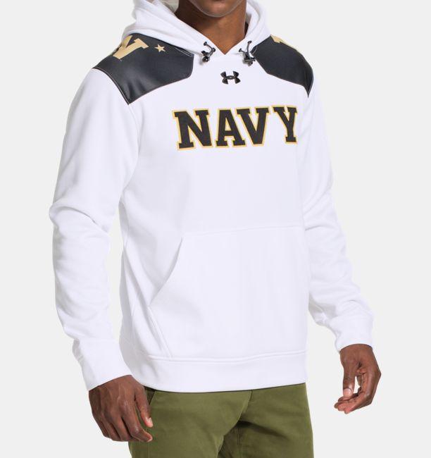 "bed8f093c3b9 Men s Navy ""Summer Whites"" UA Storm Armour® Fleece Hoodie"