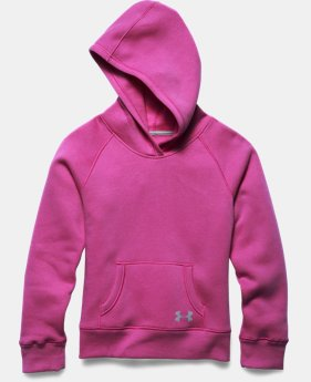Girls' UA Rival Cotton Solid Hoodie