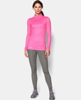 New to Outlet Women's UA ColdGear® Printed Mock LIMITED TIME OFFER + FREE U.S. SHIPPING 1 Color $41.24