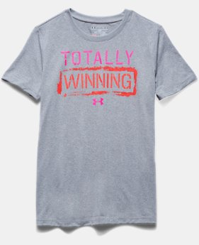 Girls' UA Tech™ Totally Winning T-Shirt