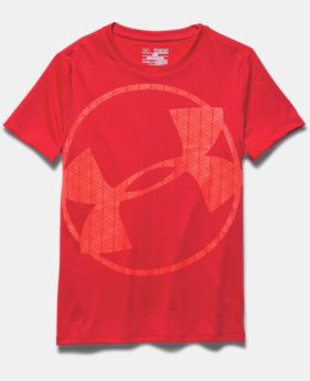 Girls' UA Circle Logo Glow T-Shirt
