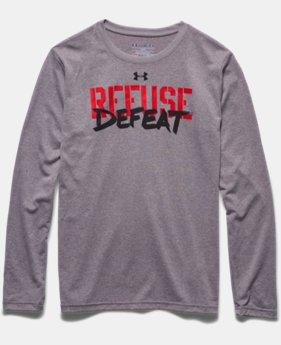 Boys' UA Refuse Defeat Long Sleeve T-Shirt