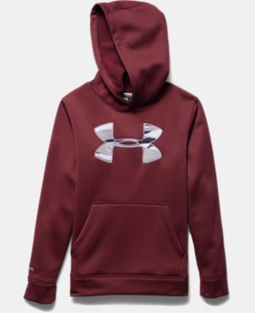 Boys' UA Storm Armour® Fleece MTN Hoodie