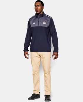 Men's Notre Dame UA Win It ¼ Zip