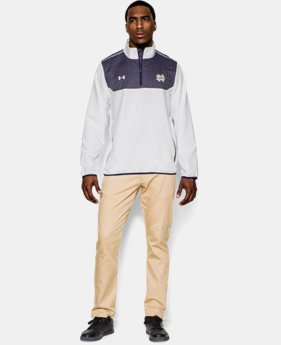 Men's Notre Dame UA Win It ¼ Zip  1 Color $67.99