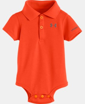 Boys' Newborn UA Polo Bodysuit LIMITED TIME: FREE U.S. SHIPPING 1 Color $14.99