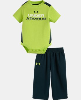 Boys' Newborn UA Elevate 2-Piece Set