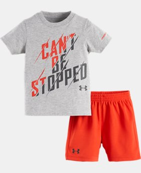 Boys' Infant UA Can't Be Stopped 2-Piece Set