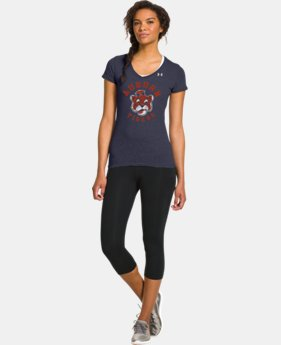 Women's Under Armour® Legacy Auburn Charged Cotton Tri-Blend V-Neck