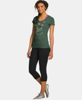 Women's Under Armour® Legacy South Florida Charged Cotton Tri-Blend V-Neck
