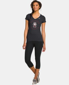Women's Under Armour® Legacy Southern Illinois Charged Cotton Tri-Blend V-Neck
