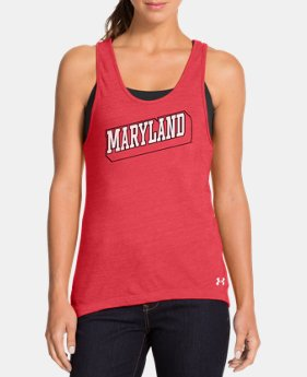 Women's Under Armour® Legacy Maryland Charged Cotton Tri-Blend Tank