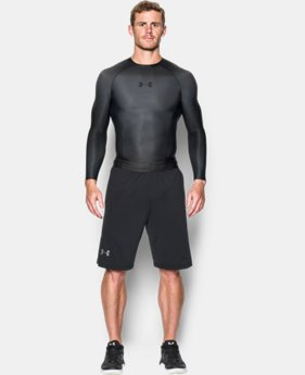 Men's UA Charged Compression Long Sleeve Shirt LIMITED TIME: FREE U.S. SHIPPING 1 Color $124.99
