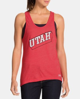 Women's Under Armour® Legacy Utah Charged Cotton Tri-Blend Tank
