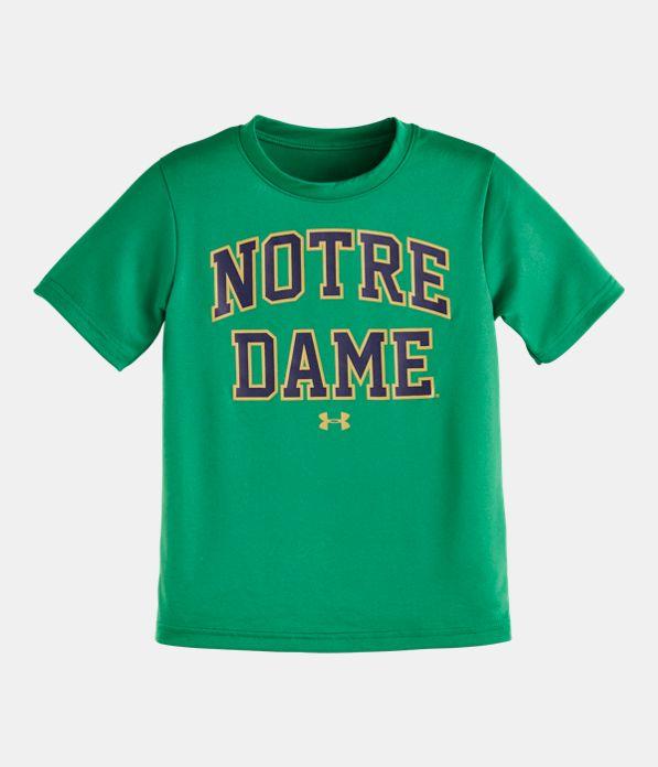 Kids Pre School Notre Dame T Shirt Under Armour Us