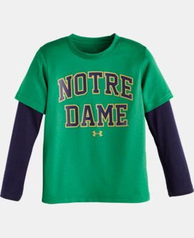 Kids' Pre-School Notre Dame Long Sleeve T-Shirt