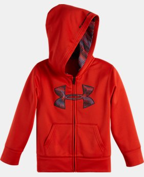Boys' Infant UA Geo Stacked Hoodie