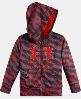 Boys' Infant UA Geo Stacked Printed Hoodie