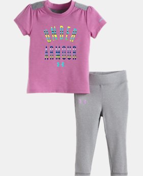 Girls' Infant UA Colorblock Set