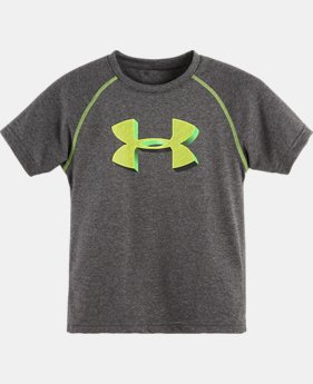 Boys' Toddler UA 3-D Big Logo T-Shirt