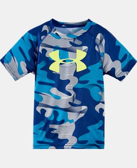Boys' Toddler UA Wavy Camo Raglan T-Shirt