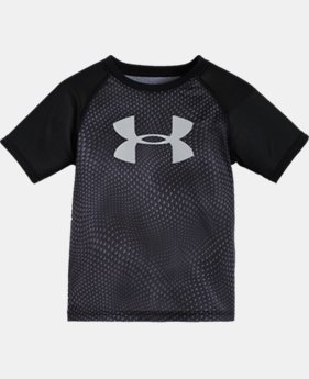 Boys' Toddler UA Big Logo Rattled Raglan T-Shirt