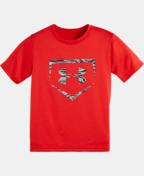 Boys' Toddler UA Camo Diamond Logo T-Shirt