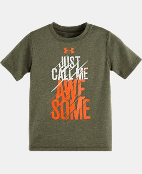 Boys' Toddler UA Awesome T-Shirt