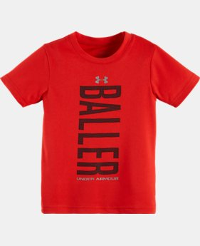 Boys' Toddler UA Baller T-Shirt