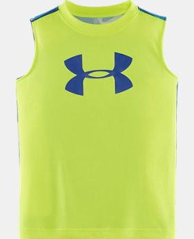 Boys' Toddler UA Big Logo Wavy Tank