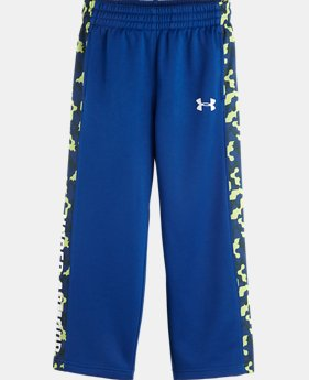 Boys' Toddler UA Brawler Cloud Camo Pants