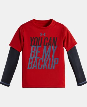 Boys' Pre-School UA Be My Backup Slider