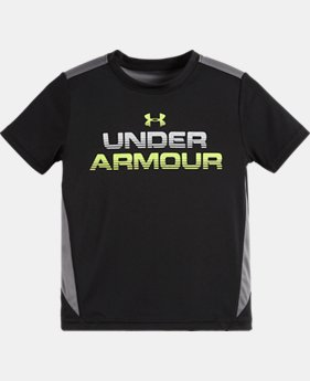 Boys' Pre-School UA Elevated Armour T-Shirt