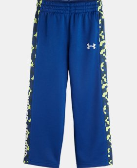 Boys' Pre-School UA Brawler Cloud Camo Pants