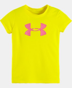 Girls' Toddler Glitter UA Big Logo T-Shirt