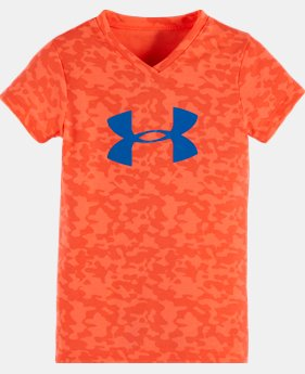 Girls' Pre-School UA Hydro Big Logo T-Shirt